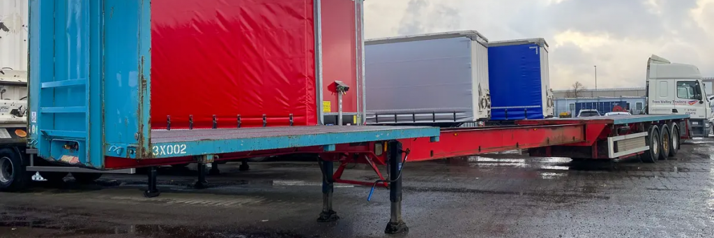 Flat Extender Trailer for sale or hire
