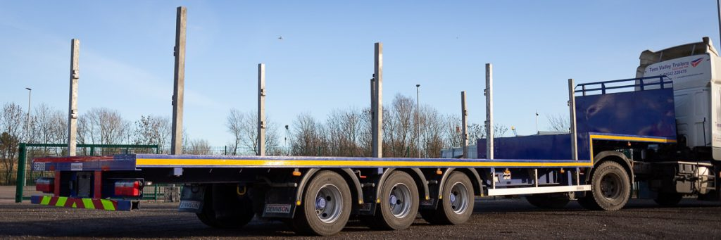 Step Frame Trailer for sale or hire